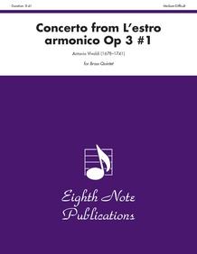 Concerto (from <i>L'estro Armonico,</i> Op 3 #1)