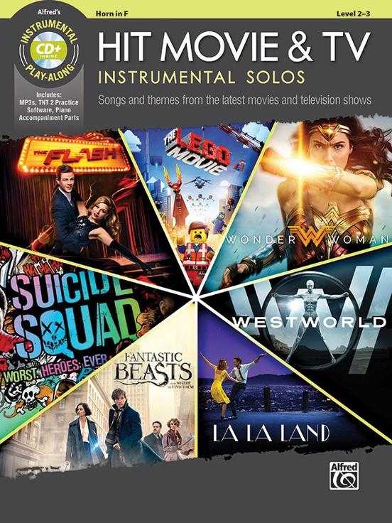 ヒット映画&テレビ・ソロ曲集(ホルン)【Hit Movie & TV Instrumental Solos】