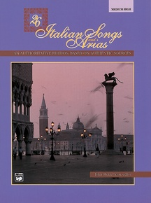 26 Italian Songs and Arias