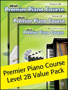 Premier Piano Course, Lesson, Theory & Pop Hits 2B (Value Pack 2012)
