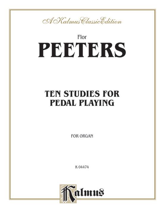 Ten Studies for Pedal Playing