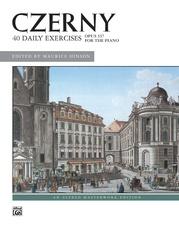 Czerny, 40 Exercises, Opus 337