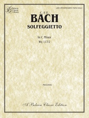 Solfeggietto in C Minor, Wq 117/2