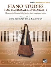 Piano Studies for Technical Development, Volume 2