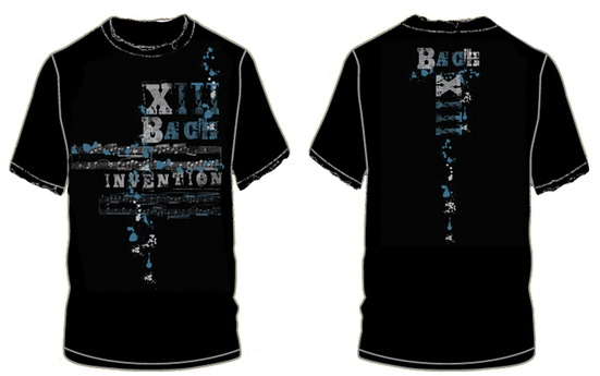 Bach Invention XIII T-Shirt (Extra Large)