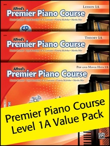Premier Piano Course, Lesson, Theory & Pop Hits 1A (Value Pack 2012)