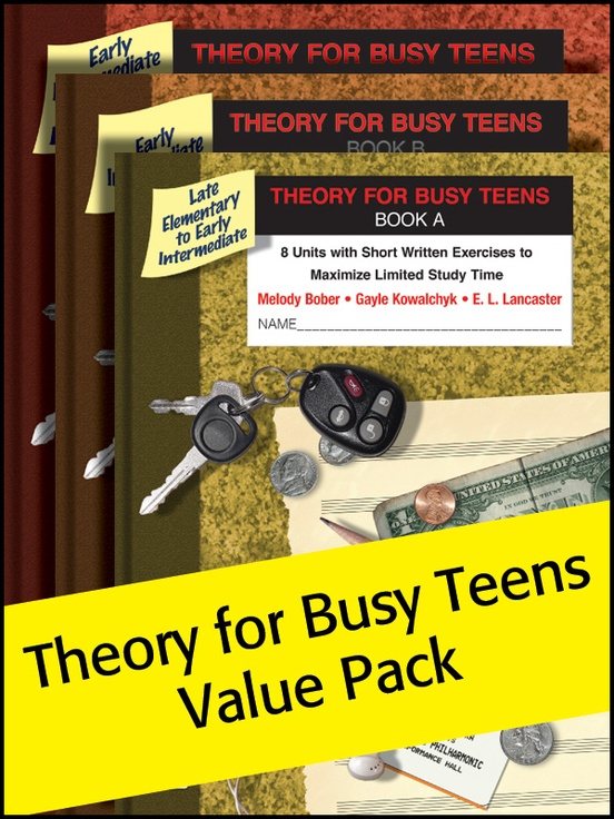 Theory for Busy Teens A, B & 1 (Value Pack)