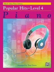 Alfred's Basic Piano Library: Popular Hits, Level 4
