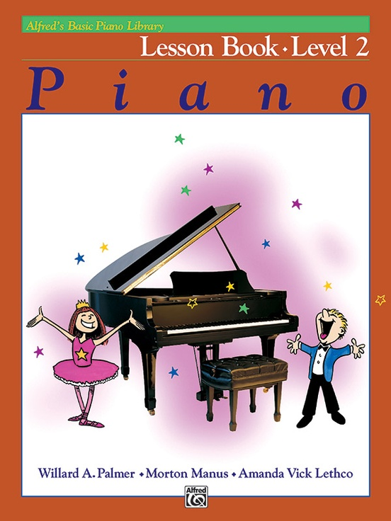 Alfred's Basic Piano Library: Lesson Book 2