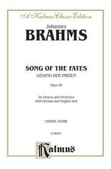 Song of the Fates (Gesang der Parzen), Opus 89