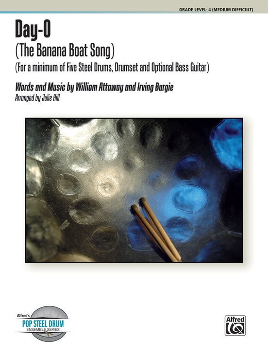 Day-O (The Banana Boat Song): Steel Drum Conductor Score & Parts ...