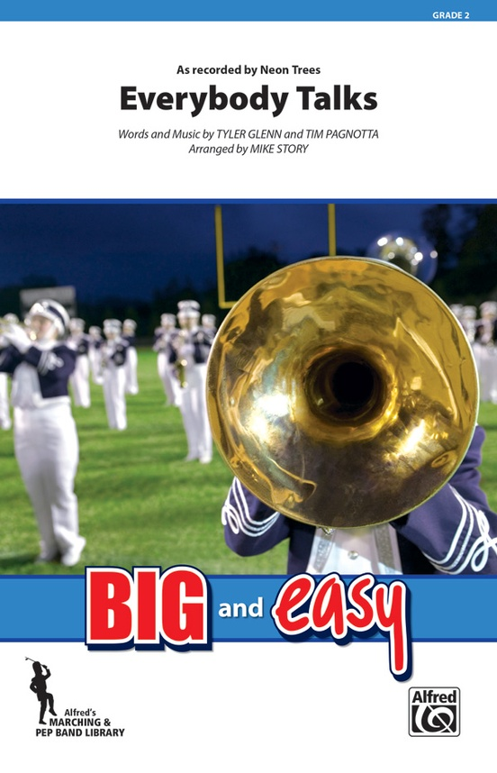 Everybody Talks: Marching Band Conductor Score & Parts: Neon Trees