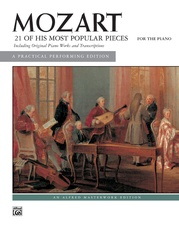 Mozart: 21 of His Most Popular Pieces