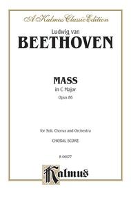 Mass in C Major, Opus 86