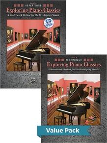 Exploring Piano Classics Level 4 (Value Pack)