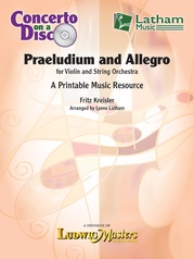 Praeludium and Allegro for Violin and String Orchestra