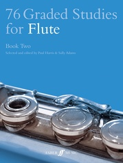 76 Graded Studies for Flute, Book Two