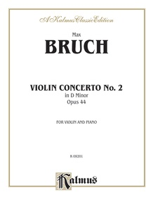 Violin Concerto in D Minor, Opus 44