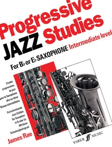 Progressive Jazz Studies for B-flat or E-flat Saxophone, Book 2