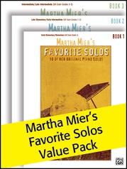 Martha Mier's Favorite Solos 1-3 (Value Pack)