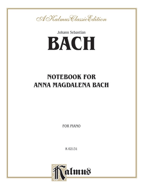 Notebook for Anna Magdalena Bach