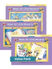 Music for Little Mozarts Level 4 2012 (Value Pack)