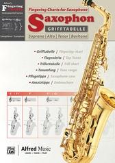 Grifftabelle für Saxophon [Fingering Charts for Saxophone]