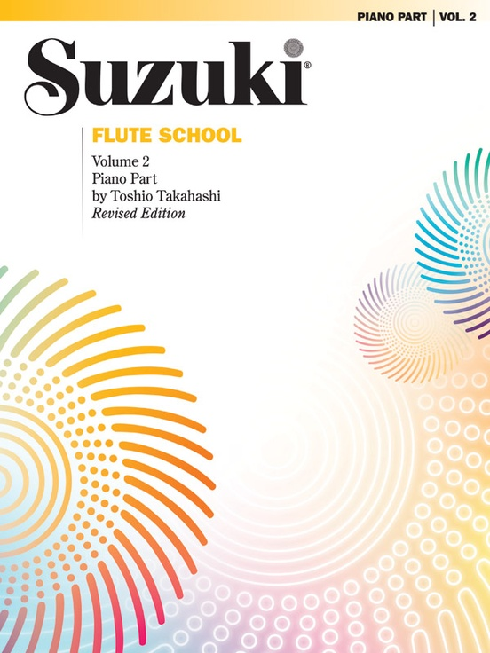 Suzuki Flute School Piano Acc., Volume 2 (Revised)