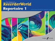 RecorderWorld Repertoire Book 1