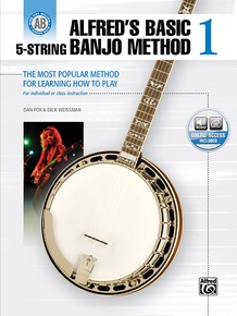 Alfred's Basic 5-String Banjo Method 1