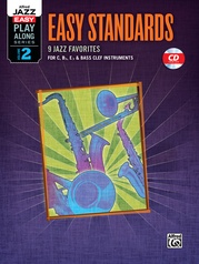 Alfred Jazz Easy Play-Along Series, Vol. 2: Easy Standards