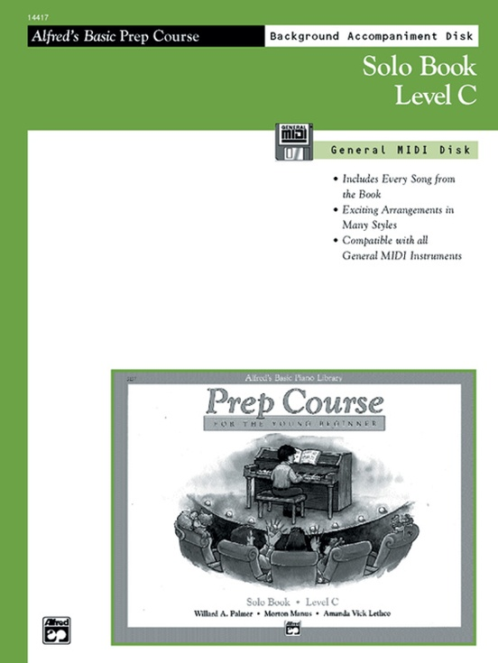 Alfred's Basic Piano Prep Course: GM Disk for Solo Book C