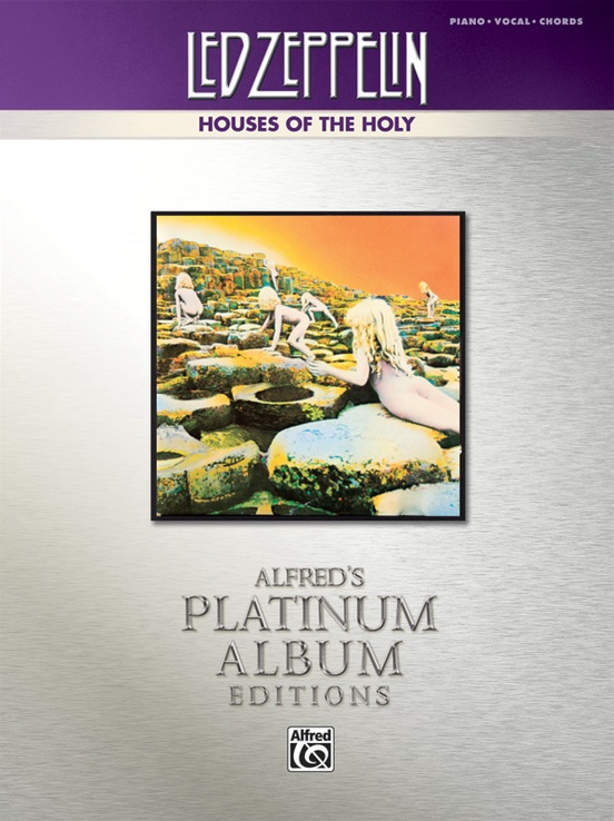 Led Zeppelin Houses Of The Holy Platinum Album Edition Pianovocal