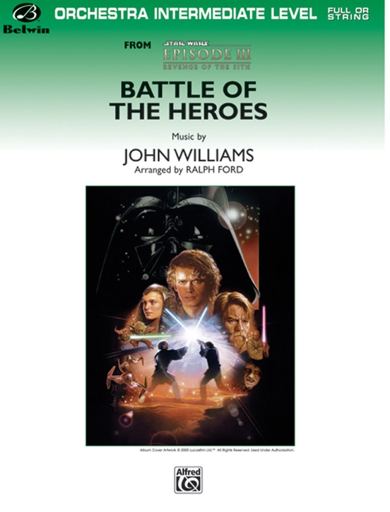 Battle of the Heroes (from Star Wars®: Episode III Revenge of the Sith)