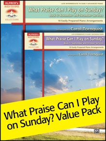 What Praise Can I Play on Sunday, 5 & 6 (Value Pack)
