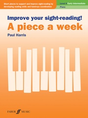 Improve Your Sight-Reading! A Piece a Week: Piano, Level 4