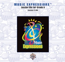 Music Expressions™ Grade 6 (Middle School 1): Lesson CDs