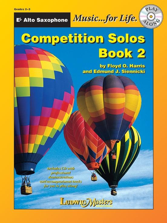 Competition Solos, Book 2 Alto Sax
