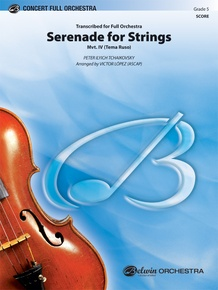 Serenade for Strings Mvt. IV Finale (Tema Ruso)