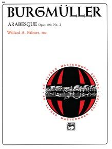 Burgmüller: Arabesque, Opus 100, No. 2