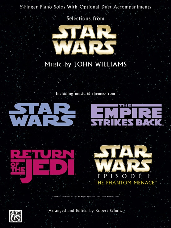Star Wars®, Selections from