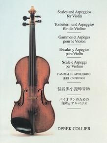 Scales and Arpeggios for Violin