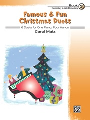 Famous & Fun Christmas Duets, Book 3