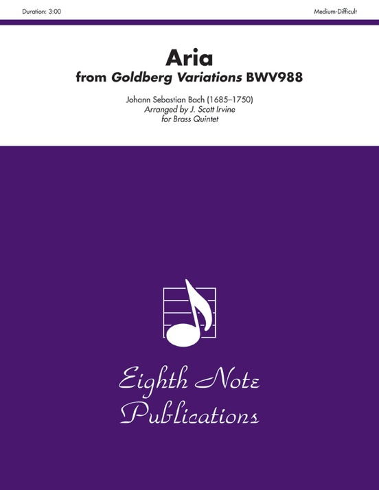 Aria (from Goldberg Variations, BWV988)