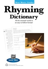 Mini Music Guides: Rhyming Dictionary
