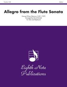 Allegro (from the <I>Flute Sonata</I>)