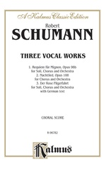 Three Vocal Works