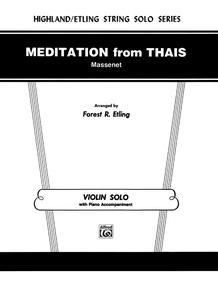 Meditation from <I>Thaïs</I>