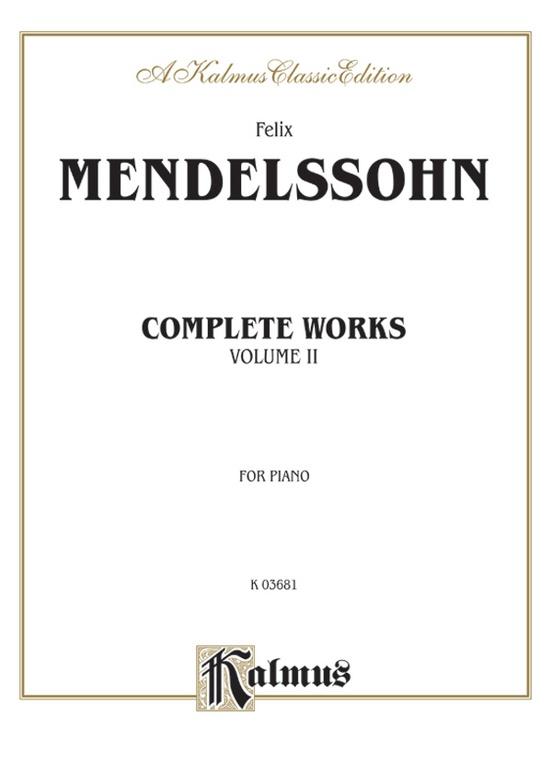 Complete Works, Volume II