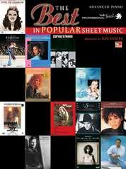 The Best in Popular Sheet Music